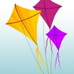 """Colorful Kites"" by Salvatore Vuono"