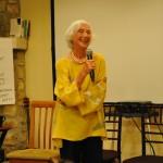 Barbara Marx Hubbard at the Center for Integral Wisdom Board Meeting 2015