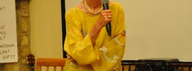 Barbara Marx Hubbard at the Center for Integral Wisdom Board Meeting 2015